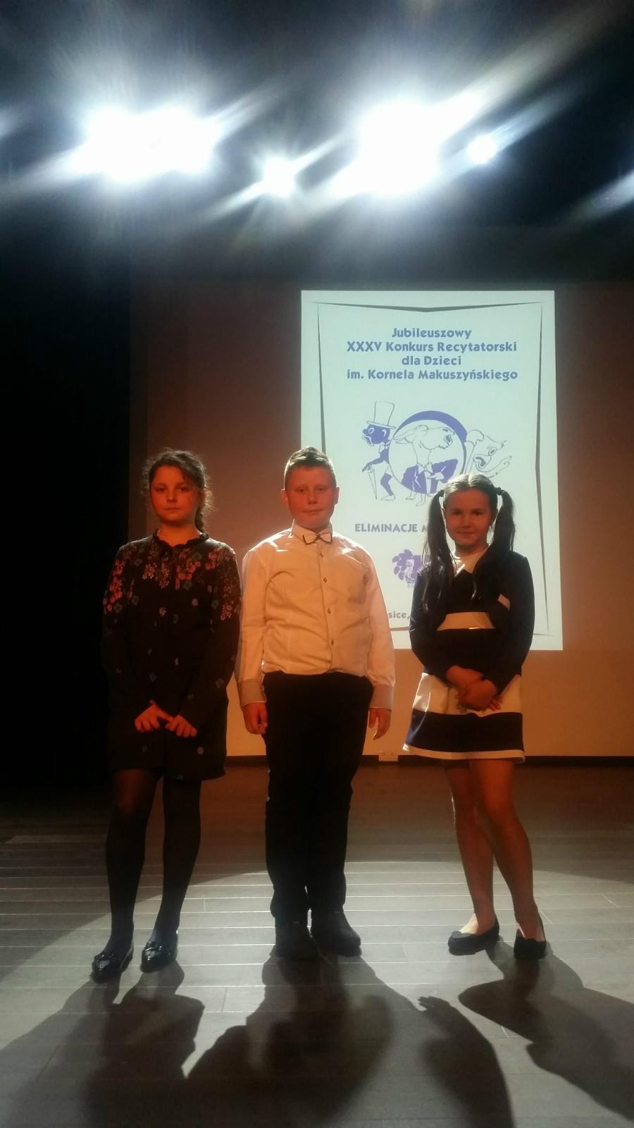 Zespół Oświatowy W Niemojkach Konkurs Recytatorski